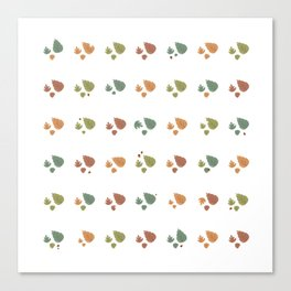 The leaves fall Canvas Print