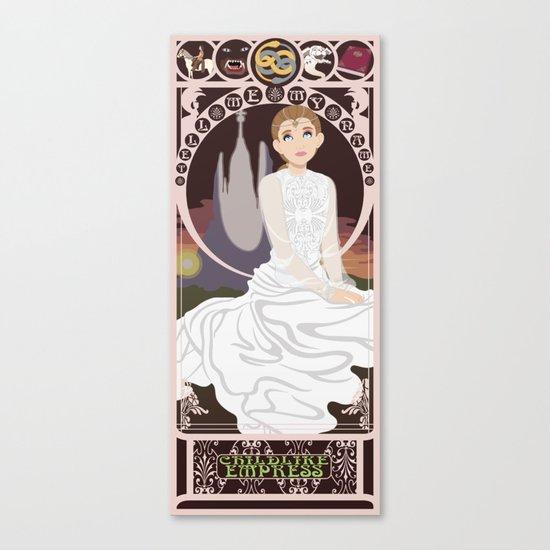 Childlike Empress Nouveau - Neverending Story Canvas Print