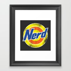 Nerd Framed Art Print