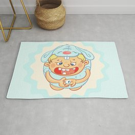 baby tooth Rug