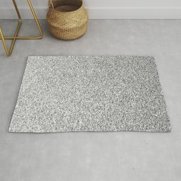 Silver Sparkles Rugs For Any Room Or