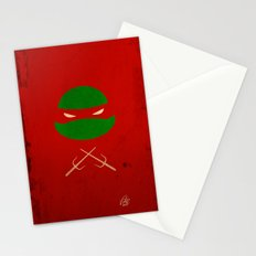 TMNT Raph poster Stationery Cards