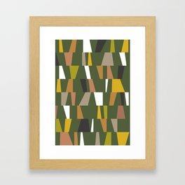 Modern Geometric 47 Framed Art Print