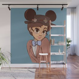 tuppence for land Wall Mural