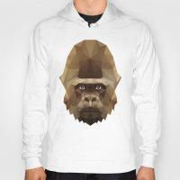 gorilla Hoodies featuring Gorilla by Taranta Babu