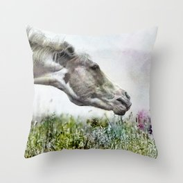 Shake It Off special textured Throw Pillow