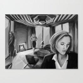 Scully x Stella x Bedelia Canvas Print