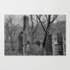 Rural Ruins Canvas Print