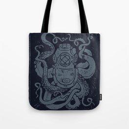 Mark V Octopus - navy Tote Bag