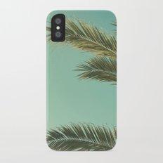 Autumn Palms II iPhone X Slim Case