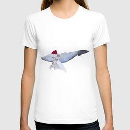 Whale in a Beanie T-shirt