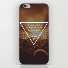 How did I get here? Musical Concert iPhone Skin