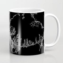 Honolulu map Coffee Mug