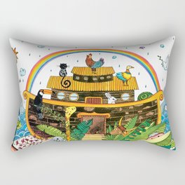 Noah's Ark Rectangular Pillow
