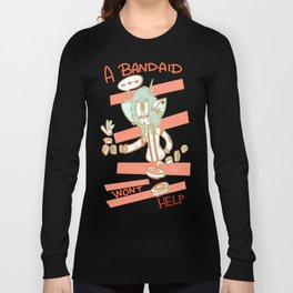 stitches would be a better option Long Sleeve T-shirt