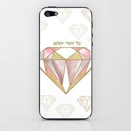 Diamond iPhone Skin