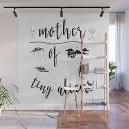 Mother Mothers Day Present Alien Children Wall Mural