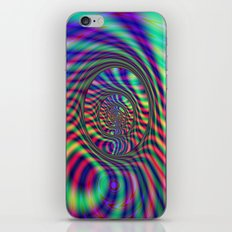 Psychedelic Ovals iPhone & iPod Skin