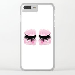 Eyes 3 Clear iPhone Case