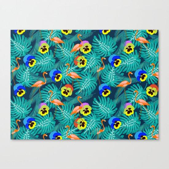 Summer tropical I Canvas Print