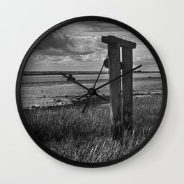 At Harty Ferry Wall Clock