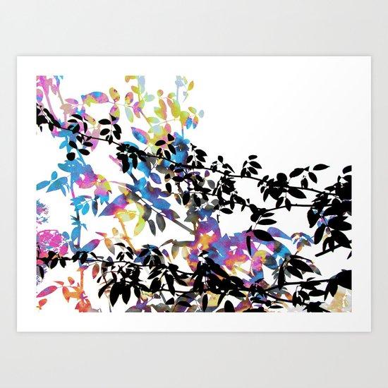 Rose Vine Ecstasy Art Print