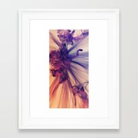 cosmos Framed Art Prints featuring Cosmos by JR Schmidt