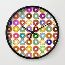 Donuts!! Wall Clock