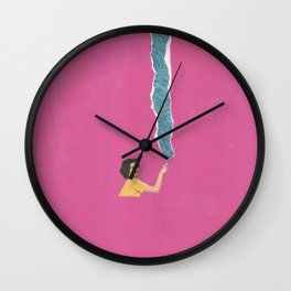 Torn Around - Paint like a Van Gogh Wall Clock