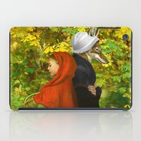 red riding hood iPad Cases featuring Red Riding Hood by Diogo Verissimo