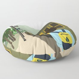 Call me by your name - Parting Floor Pillow