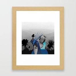 Animated Stardust Framed Art Print