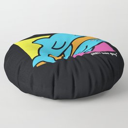 Dolphins. Floor Pillow