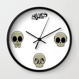 Triple Nope Wall Clock