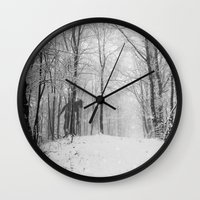 lonely Wall Clocks featuring Lonely... by NDTank