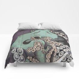 Octo Cut Ups Comforters