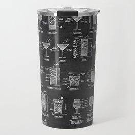 COCKTAIL chart Travel Mug