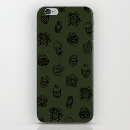 Little Monsters (green) iPhone Skin