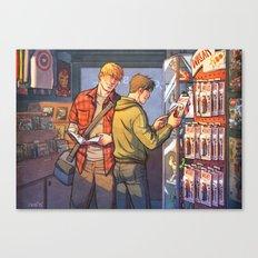 William and Theodore 23 Canvas Print