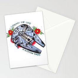 Looking for love in Alderaan places Stationery Cards