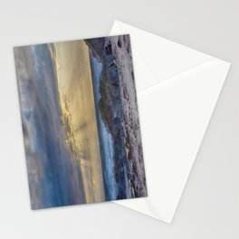 Sunset and God beams - watercolour Stationery Cards