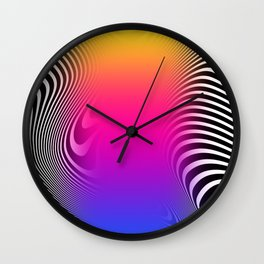 Indecisive State Wall Clock