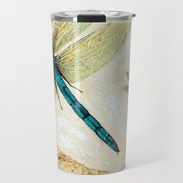 Zen Flight - Dragonfly Art By Sharon Cummings Travel Mug