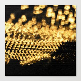 Countless lights Canvas Print