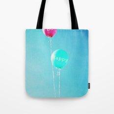 Happy Balloons Tote Bag