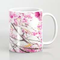 martell Mugs featuring Seattle Blossoms by G Martell