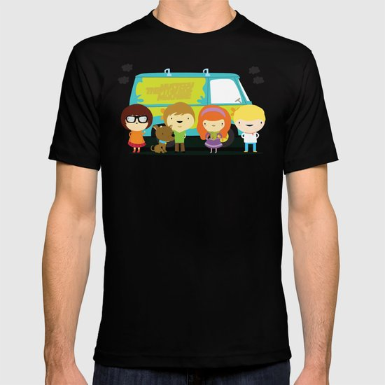 Little scooby characters T-shirt