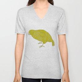 Kakapo Says Hello! Unisex V-Neck