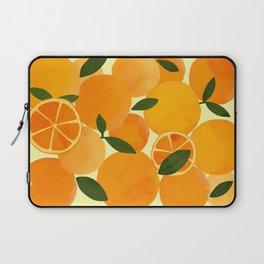 mediterranean oranges still life  Laptop Sleeve