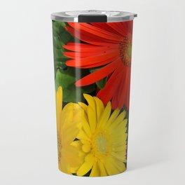 Colorful Daisies Travel Mug